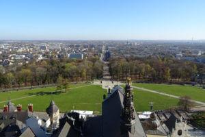 Blick auf Częstochowa